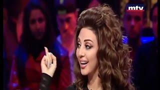 getlinkyoutube.com-ميريام فارس تعلم اللبنانيين الزفة الخليجية