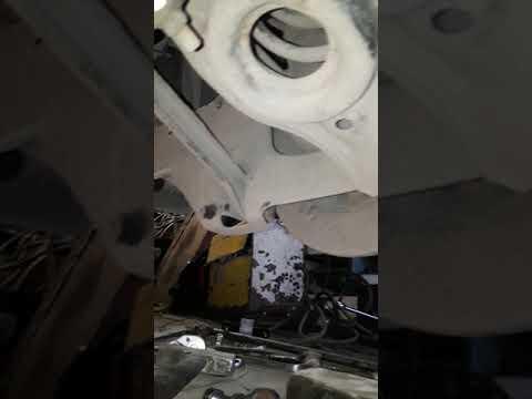 Ремонт задней подвески МАЗДА СХ-7 (начало)