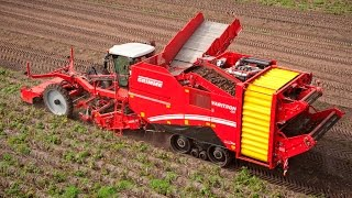 Grimme VARITRON 470 TERRA TRAC self-propelled potato harvester