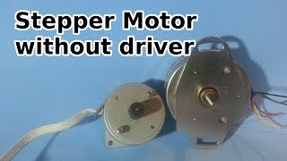 getlinkyoutube.com-How to Run a Stepper Motor Without a Driver