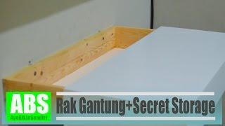 getlinkyoutube.com-Membuat rak gantung dengan penyimpanan rahasia