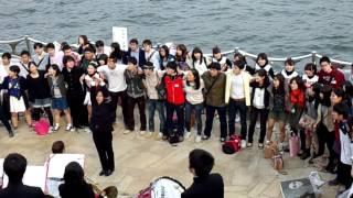 getlinkyoutube.com-えんじの唄 早稲田大学 早慶レガッタ2014