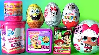 getlinkyoutube.com-TOYS SURPRISE LOL Dolls Barbie Fashems Twozies Baby Lalaloopsy Kinder Disney Frozen Funtoys