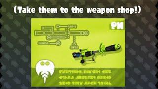 getlinkyoutube.com-Splatoon - Inkling Girl Amiibo Challenges - Getting The Weapon Blueprints