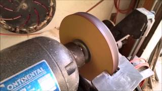Naked Turner How To Make Your Own Honing Wheel DIY