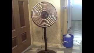 Homemade Air Conditioner simple DIY AC uses 45 Watts - can be solar powered!