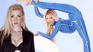 getlinkyoutube.com-Most Flexible Person In The World - Julia Günthel