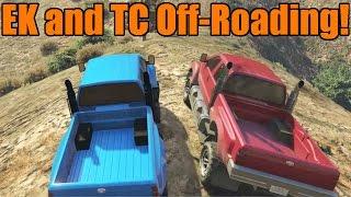 getlinkyoutube.com-GTA 5 | EK and TC | Guardian Off-Roading | Part 1 | EK Can't Climb!