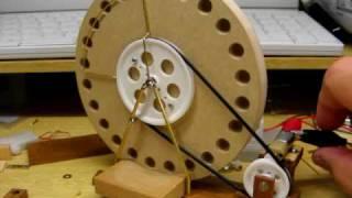 getlinkyoutube.com-Test run for  wheel ball lifter