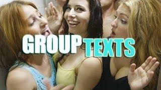 getlinkyoutube.com-Group Texts In Real Life