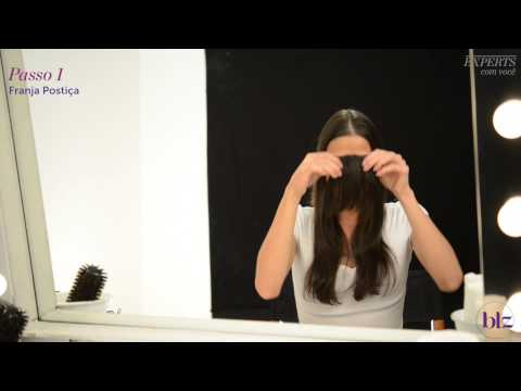Franja falsa: mude o visual sem cortar o cabelo   Beleza na Web