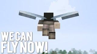 getlinkyoutube.com-How Far Can You Fly in Minecraft 1.9?