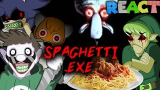 LUIGIKID REACTS TO: Spaghetti.exe (by SMG4)