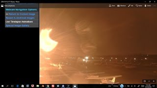 Nemesis being eclipsed and plasma discharged between planets caught in Austrailia 10/14/2016