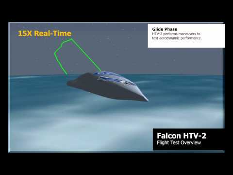DARPA's Falcon HTV-2 Rocket Launch (6 Stages)