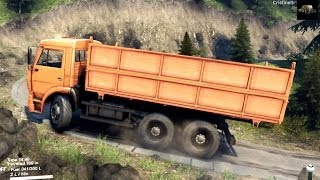 getlinkyoutube.com-SPINTIRES 2014 - The Hill Map - Kamaz With a New Carriage
