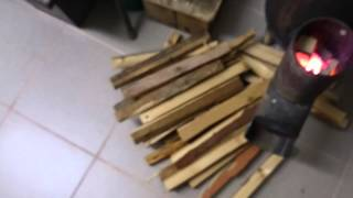 getlinkyoutube.com-Печка для моего гаража часть 4