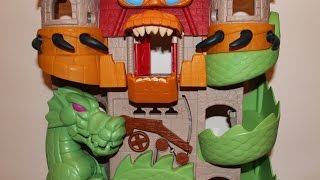 getlinkyoutube.com-imaginext dragon castle