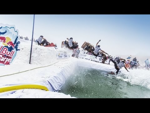 Creative Sledding Competition in Azerbaijan - Red Bull Shakh Carpet Competition