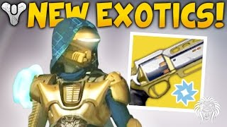 Destiny: AGE OF TRIUMPH INFO! Exotic Elemental Primaries, New Rewards & Update Patch 2.6.0