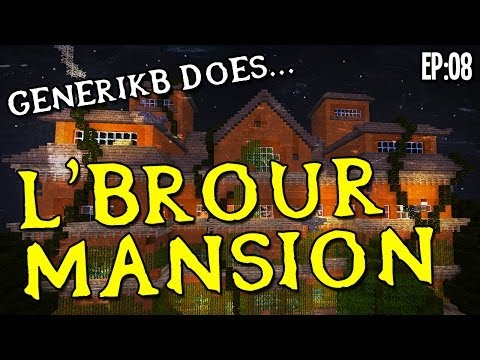 Minecraft Adventure Map: L'brour Mansion Ep08 -