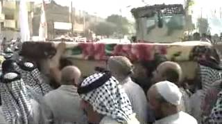 تشييع الشيخ خلف فاخر غضبان البنيه اللامي 3