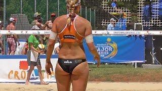 getlinkyoutube.com-Beach Volleyball Girls Van Iersel/Meppelink Action Highlights