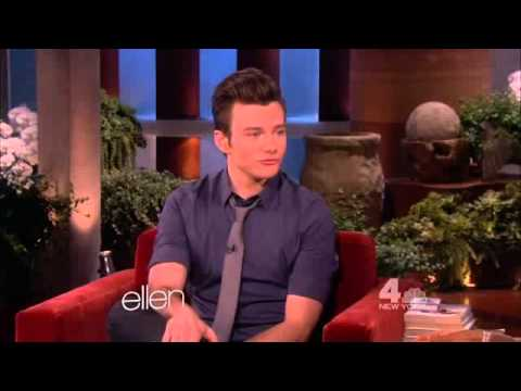Chris Colfer on The Ellen DeGeneres Show (May 2nd, 2013)