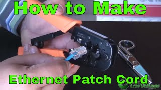 getlinkyoutube.com-RJ45 How to make an Ethernet  568B Patch Cable