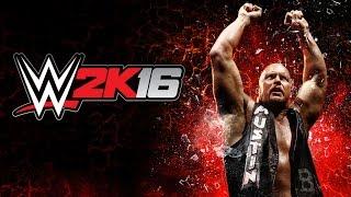 getlinkyoutube.com-Steel Cage & Table Match - WWE 2k16