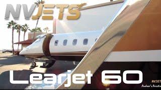 getlinkyoutube.com-Inside the NV Jets Learjet 60 [HD]