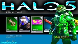 getlinkyoutube.com-HALO 5 | FIRST REQ PACK OPENING