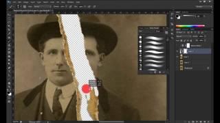 Adobe Photoshop CS6 - Photo Restoration #1 - Timelapsed