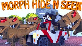 getlinkyoutube.com-Minecraft Mods   MORPH HIDE AND SEEK - The Modded Games ep 7! (Morph Mod)