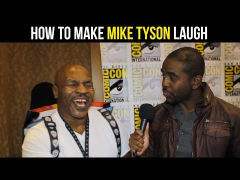 Mike Tyson Calls His Voice 'Drunk' & 'Tranny' At Comic-Con - MASSIVE TV MINUTE #1