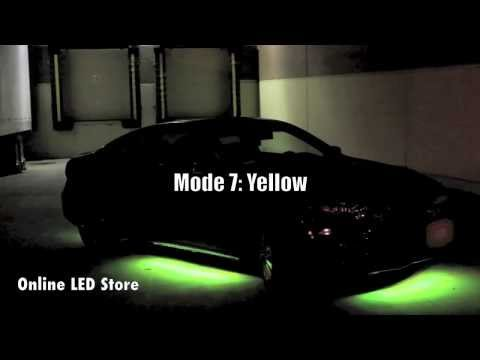 7 Color Under Car LED Neon Light with Sound Active Mode