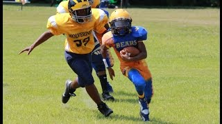 getlinkyoutube.com-2014 Devin Graham - CLAY Bears 12u Football Highlights