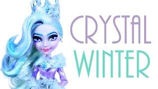 getlinkyoutube.com-Crystal Winter Doll Repaint [EVER AFTER HIGH]
