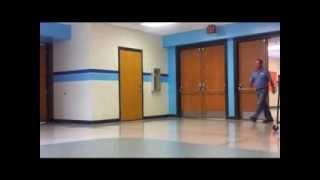 getlinkyoutube.com-Fire Alarm, Strobe Light, & Automatic Door Test