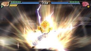 getlinkyoutube.com-Gogeta transforms into a Super Saiyan 4 to defeat Super Buu and Broly (DBZ Budokai Tenkaichi 3)