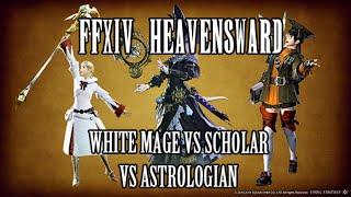 getlinkyoutube.com-FFXIV Heavensward: White Mage vs. Scholar vs. Astrologian