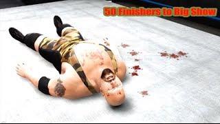 getlinkyoutube.com-WWE 13 | 50 Finishers to Big Show