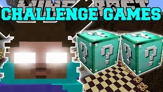 getlinkyoutube.com-Minecraft: FURBY HEROBRINE CHALLENGE GAMES - Lucky Block Mod - Modded Mini-Game