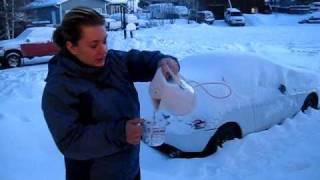 Salju dari Air Mendidih JIka air mendidih bersuhu 100oC disiram ke udara yang bersuhu -34oC maka air akan berubah menjadi salju dan terbang,, its WOW, isnt it? :D