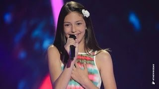 getlinkyoutube.com-Lenisa Sings A Whole New World | The Voice Kids Australia 2014