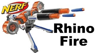NERF N-Strike Elite Rhino Fire Unboxing and Review