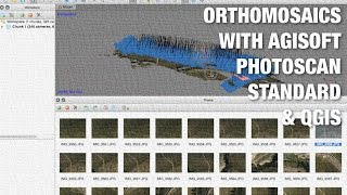 getlinkyoutube.com-Agisoft Photoscan Standard Edition & QGIS for Generating Orthomosaics from UAV Aerial Photography