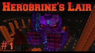 getlinkyoutube.com-Minecraft: Herobrine's Lair - Owned By Myself - Part 1