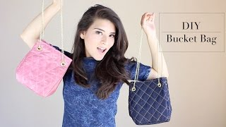 getlinkyoutube.com-DIY - BUCKET BAG | Fashion Riot