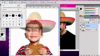 getlinkyoutube.com-Recortar parte de una imagen y pegarla en otra con Photoshop
